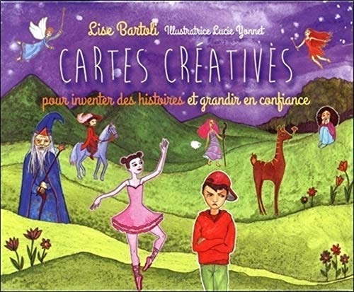 COFFRET CARTES CREATIVES: BARTOLI YONNET