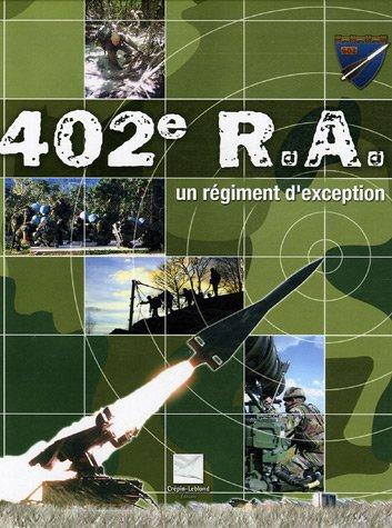 9782703002840: le 402e r.a., un régiment d'exception