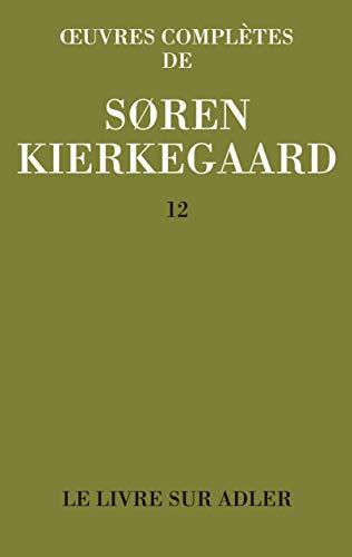9782703110378: Oeuvres complètes : Tome 12, Le livre sur Adler