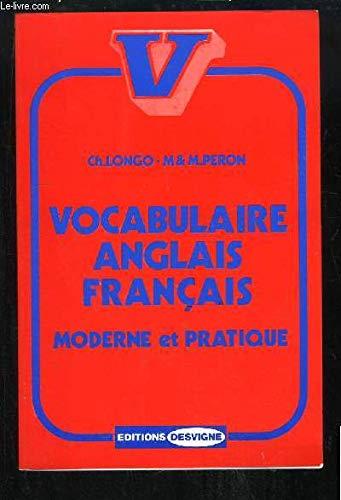 9782703700517: Vocabulaire anglais français, moderne et pratique