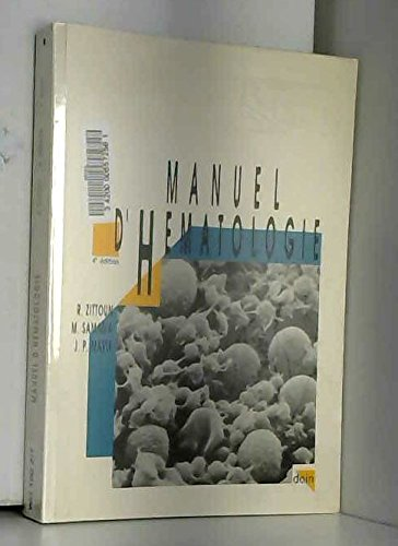 9782704007035: Manuel d'h�matologie