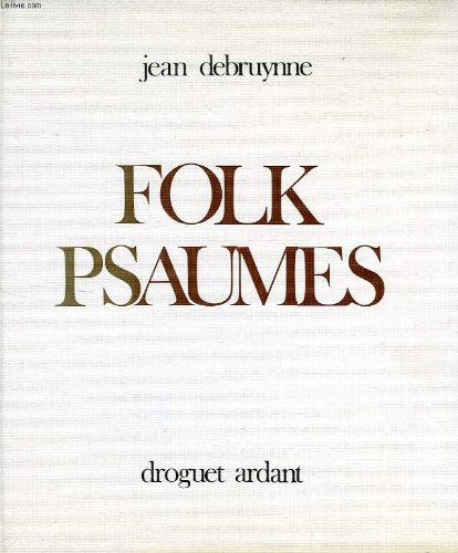 9782704103515: Folk psaumes (French Edition)