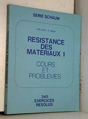 9782704200146: RESISTANCE DES MATERIAUX 1