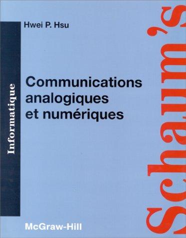 9782704212835: Communications analogiques et numériques