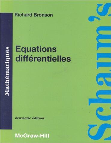 9782704212842: EQUATIONS DIFFERENTIELLES. Mod�les et applications, cours et probl�mes