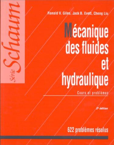 9782704212859: MECANIQUE DES FLUIDES ET HYDRAULIQUE. Cours et problèmes, 2ème édition