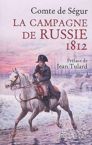 9782704811502: La Campagne de Russie 1812