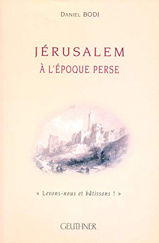 9782705337186: J�rusalem � l'�poque Perse