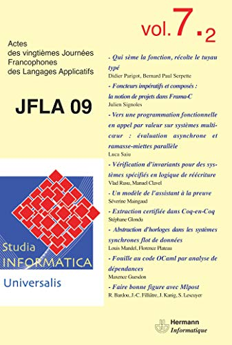 9782705669171: Studia Informatica Universalis Vol 7.2