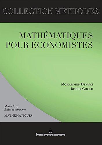 9782705680015: Mathématiques pour économistes
