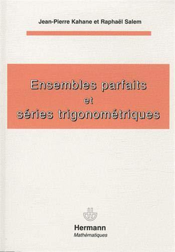 9782705680091: Ensembles parfaits et séries trigonométriques