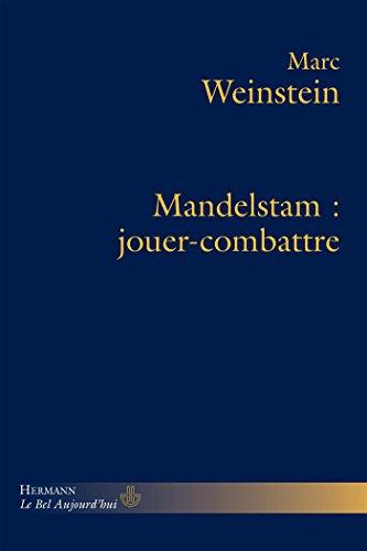9782705680190: Mandelstam: Jouer-combattre