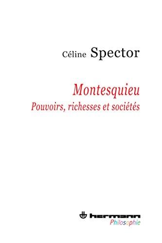 9782705680244: Montesquieu: Pouvoirs, richesses et sociétés