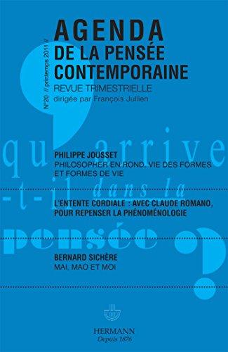 Agenda de la pensée contemporaine, nº 20: Collectif; Bernard Sichère;