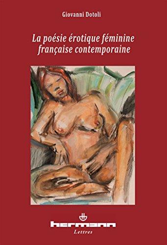 9782705680954: La poésie érotique fémine française contemporaine