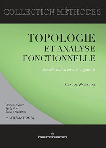 9782705683511: topologie et analyse fonctionnelle