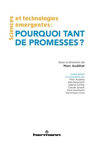 9782705691066: Sciences et technologies �mergentes : pourquoi tant de promesses ?