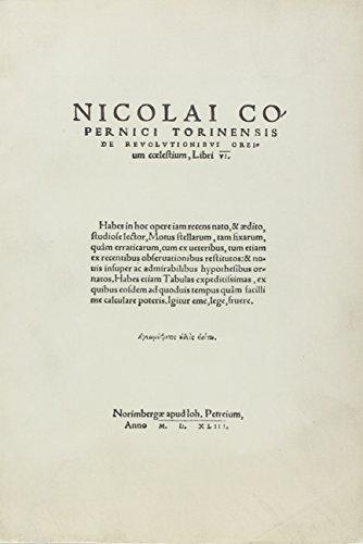 De Revolutionibus Orbium Coelestium: Nicolas Copernic