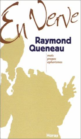 9782705803179: Raymond Queneau en verve