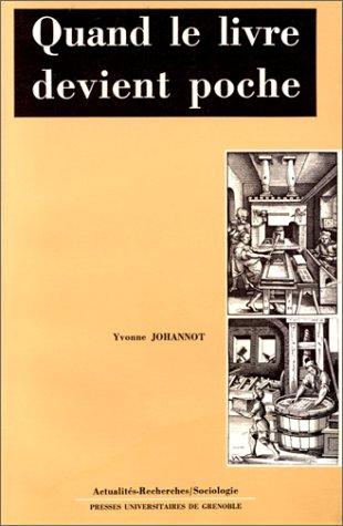 9782706101212: Quand le livre devient poche : Une sémiologie du livre au format de poche