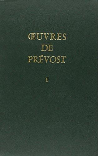 9782706101298: Œuvres de Prévost (French Edition)