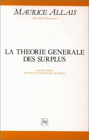 9782706103278: La th�orie g�n�rale des surplus