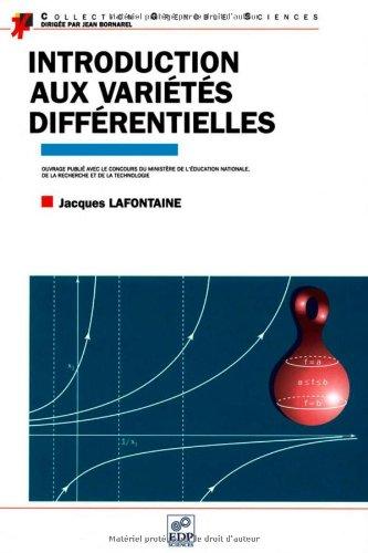 9782706106545: Introduction aux variétés différentielles