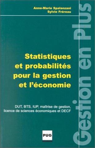 9782706109164: Statistiques et probabilités pour la gestion et l'économie