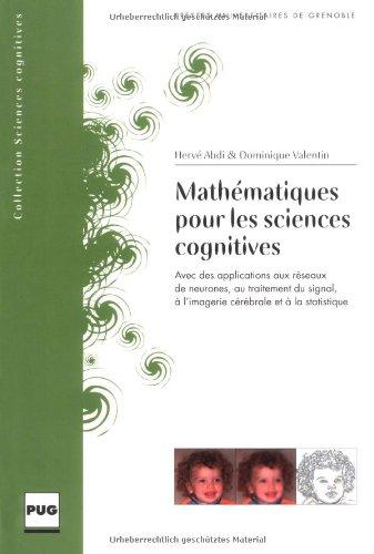 9782706112911: Mathematiques Pour Les Sciences Cognitives
