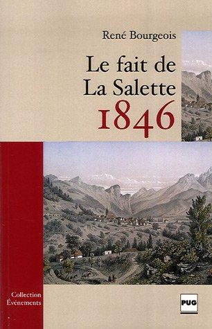 9782706113413: Le fait de La Salette : 1846