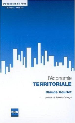 9782706114700: L'Economie territoriale (French Edition)