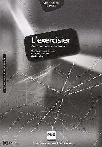 9782706115097 l 39 exercisier corriges des exercices cecr b1 b2 french edition abebooks. Black Bedroom Furniture Sets. Home Design Ideas