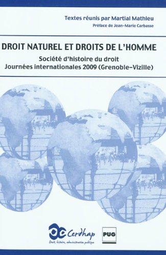Droit naturel et droits de l'homme (French Edition): Mathieu (Dir)