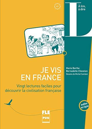 9782706125270: Je vis en France : Vingt lectures faciles pour découvrir la cicilisation française