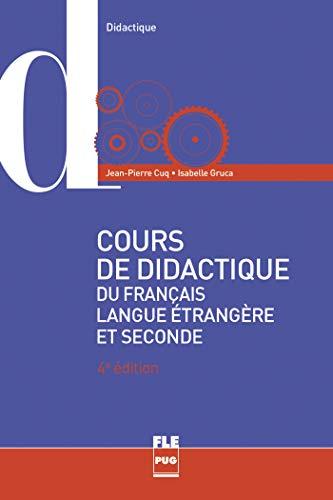 9782706126772: Cours de didactique du français langue étrangère et seconde