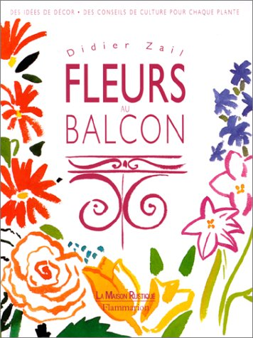 9782706607776: Fleurs au balcon