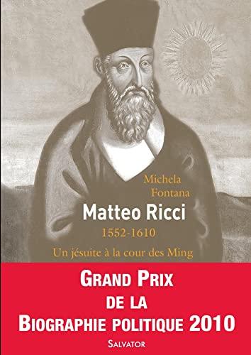9782706707193: Matteo Ricci (French Edition)