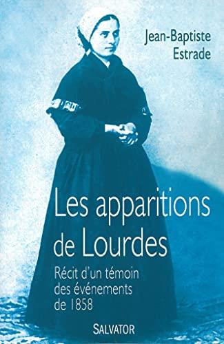 9782706712227: Les apparitions de Lourdes