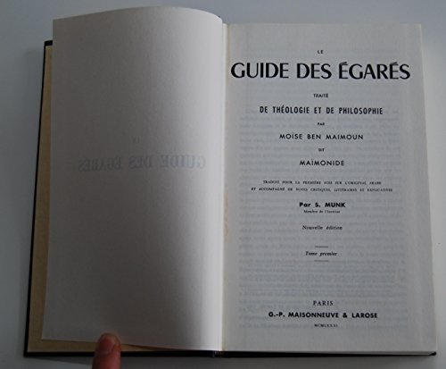 9782706802331: Guide des egares en 3 volumes