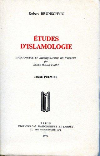 9782706806285: Études d'islamologie (French Edition)