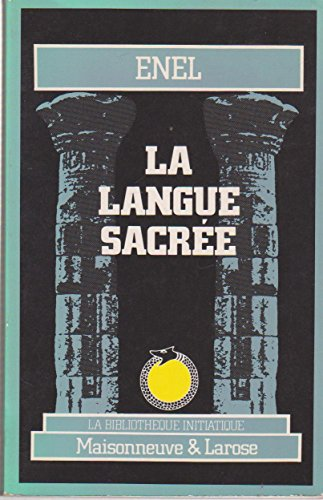 9782706808708: La langue sacrée (Bibliotheque in)