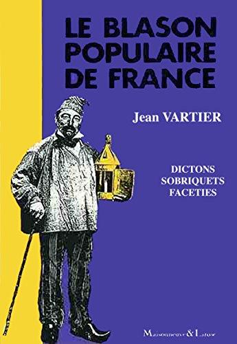 Le blason populaire de France.: VARTIER