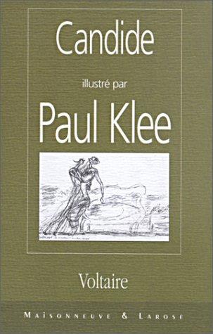 9782706815126: Candide illustré par Paul Klee