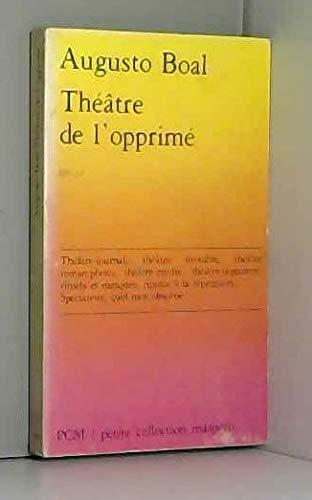 9782707111487: Théâtre de l'opprimé (Petite collection Maspero)