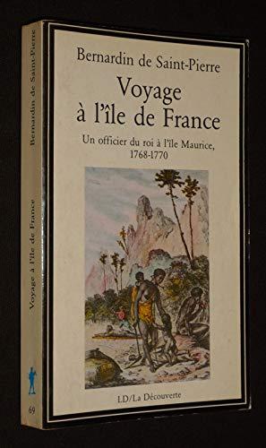 Voyage A L'Ile De France (La Decouverte): Saint-Pierre, Jacques Henri