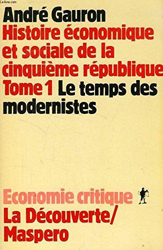 9782707114174: Histoire économique et sociale de la Cinquième République