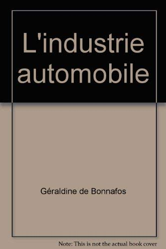 L'industrie automobile: Chanaron J-J, De