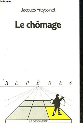 9782707114785: Le Chômage