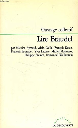 Lire Braudel: AYMARD Maurice, CAILLE