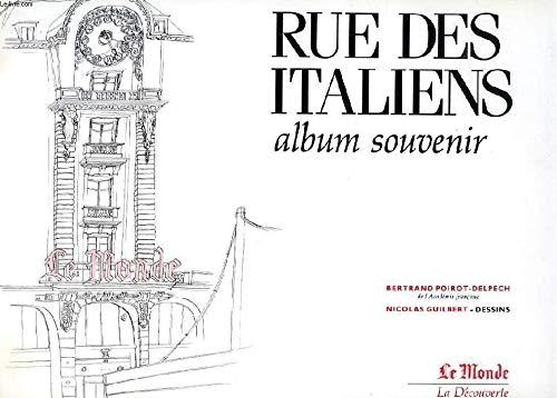 9782707119353: Rue des Italiens : Album souvenir